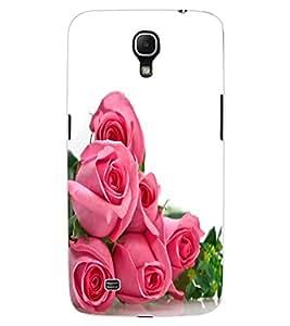 ColourCraft beautiful Rose Bouquet Design Back Case Cover for SAMSUNG GALAXY MEGA 6.3 I9200