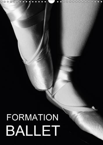 Formation Ballet 2018: Photos De Cours De Ballet Et De Chaussons De Danse. (Calvendo Art) por Anette Thomas Jager