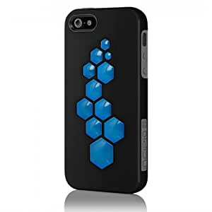 CODE for iPhone5 - Obsidian Black / Charcoal Grey / Cyan Blue