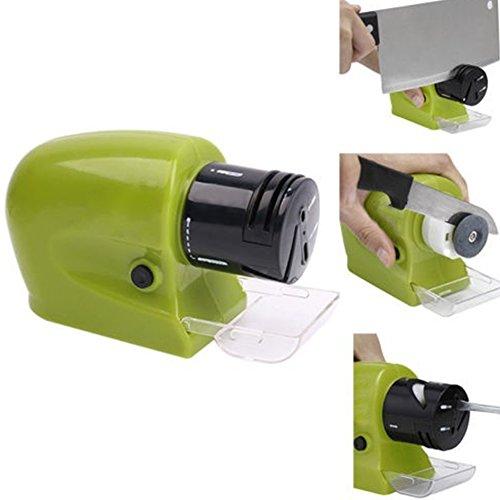Afilador de cuchillos eléctrico afilador apto para cuchillos de cocina, tijeras motorizadas, destornilladores