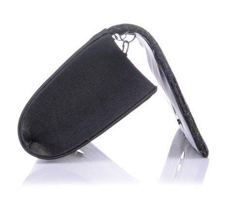Eleoption Damen Clutch klassische Abendtasche Handtasche Schwarz