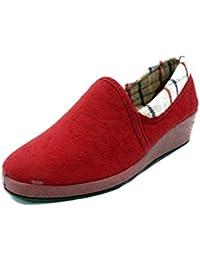 Zapatos es Para De Por Goma Zapatillas Cuña Amazon Estar Casa 7qaxPw