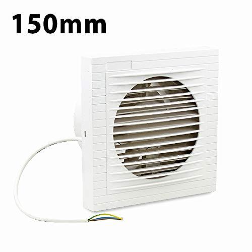 Ventiladores extractor de baño aire 150 mm Silencioso, Ventiladores de baño, Ideal...