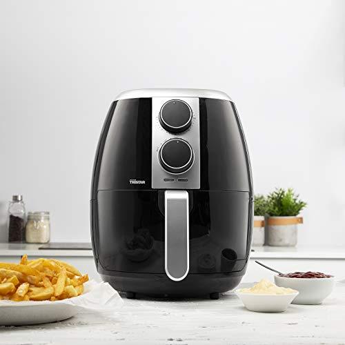 Tristar Heißluftfritteuse/ Crispy Fryer XL mit einstellbarem Thermostat und Timer | ohne Fett - einfach zu reinigen – mit 3,5 Liter Fassungsvermögen, FR-6989