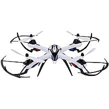 Yizhan Tarantula X6 RC Quadcopter Función Hyper IOC, 2.4 GHz Giroscopio de 6 ejes, Velocidad de vuelo ajustable, Volteos de 360 grados, 4 canales, 7.4V 1200mah 30c Li-Po batería (No Camaras) (Negro)