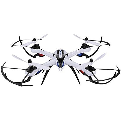 Floureon Yizhan Tarantula X6 - Drone Quadcopter RC con Hyper IOC (2.4Ghz, 4CH 6Axis, 360 Grados, con Control Remoto, 10 Min de Vuelo, 100M Distancia de Control, LED), (Negro)