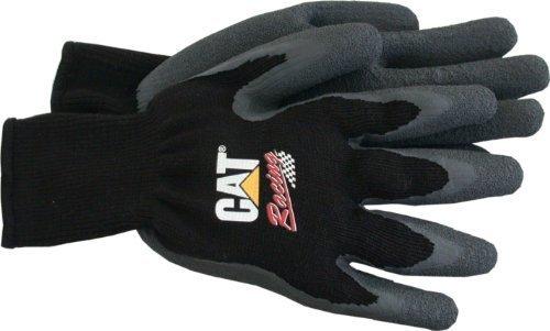 Caterpillar-baumwolle Handschuhe (Katze cat017401m Poly Baumwolle Knit Rückseite mit vollständig beschichtet Latex Palm Handschuh, Medium, durch Caterpillar Handschuhe & Zubehör)