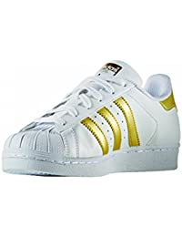 adidas superstar schwarz gold kinder