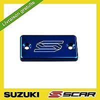 Tapa Bomba Freno Delantero Aluminio RM RMZ RMX 85 125 250 450 SCAR - Azul