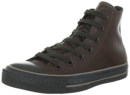 Converse Chuck Taylor All Star Leather  Chocolate 132097C Unisex - Erwachsene Fashion Sneakers Braun (Chocolate)