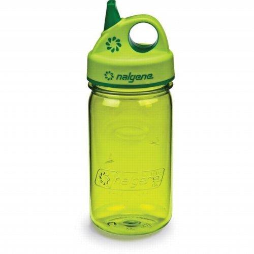 Nalgene Tritan 12oz Grip-n-Gulp BPA frei Wasser Flasche, grün - Spring Green, 2 Count