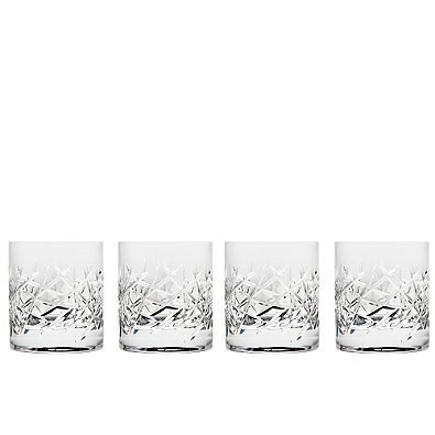 Classic 10 oz. Double Old Fashioned Glasses (Set of 4) by Top Shelf Graffiti (Classic Fashioned Old Double)