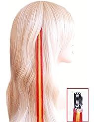 Fun de clips pour les fans de Em–Clip Extensions de cheveux 45cm–Orange