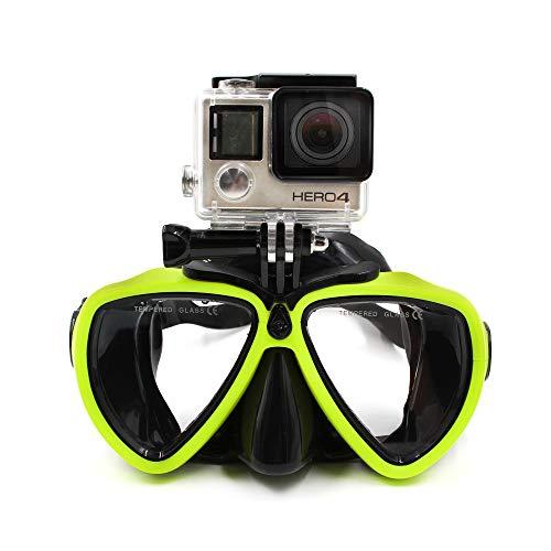 TELESIN Dive Tauchen Maske W/Halterung Kompatibel mit