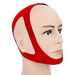 Anti-Snore Chin Strap - Snore-EX TM Adjustable Anti Snore Jaw Strap - Stop Snoring Instantly - The #1 Solution for all your snoring issues!