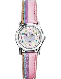 Certus 647384 - Reloj analógico de cuarzo para niño, correa de sintético color rosa