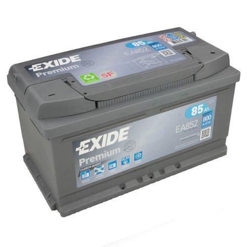 Exide EA852 Autobatterie Premium 12V 85AH