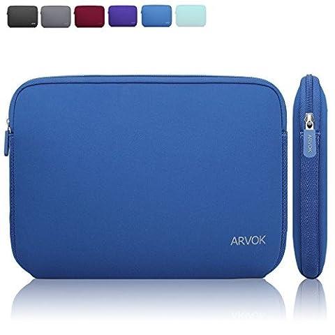Arvok 13.3 14 Inch Water-resistant Neoprene Laptop Sleeve Bag/Notebook Computer