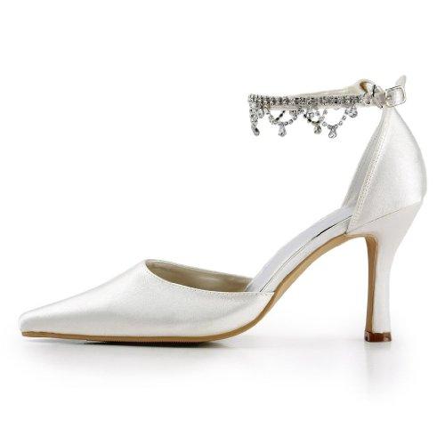 Jia Jia Wedding A314AB Scarpe Sposa Scarpe col tacco donna Beige