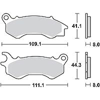 AHL 1 Paar Vorderer Bremsbel/äge f/ür NSC110 Vision 110 WHB 2011-2013 4T