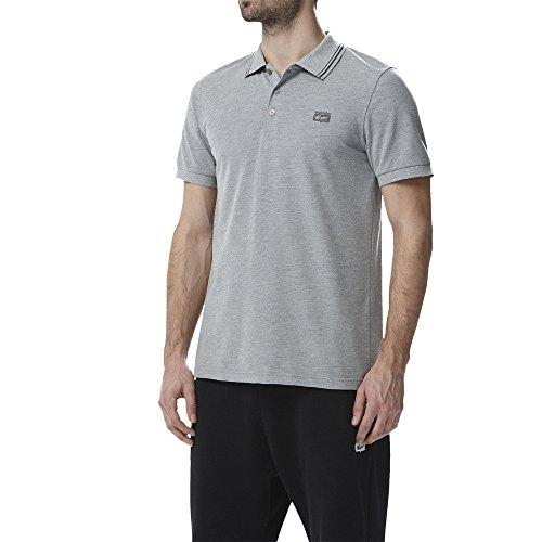 Onitsuka Tiger SS Polo Shirt, Grigio melange, L