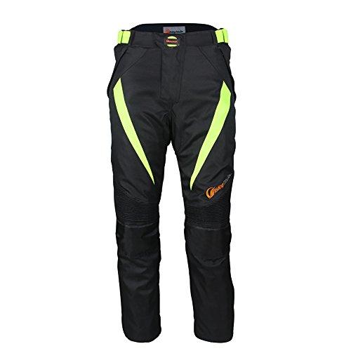 Pantalones armadura para motoristas LKN, protectores, para hombre, impermeables resistentes al viento y a todo tipo de climas
