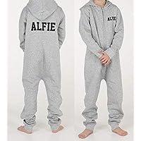Personalised boys onsie all in one sleep suit pyjamas