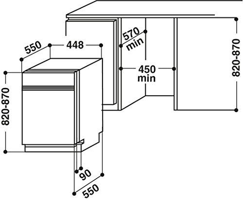 bauknecht gci 826 ix vergleich geschirrsp ler 45cm teilintegrierbar. Black Bedroom Furniture Sets. Home Design Ideas