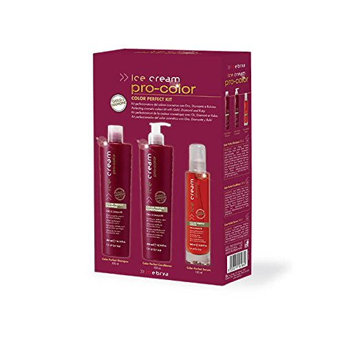 Kit perfectionnant de la couleur cosmetique avec Or,Diamant et Rubis Ice cream pro-color