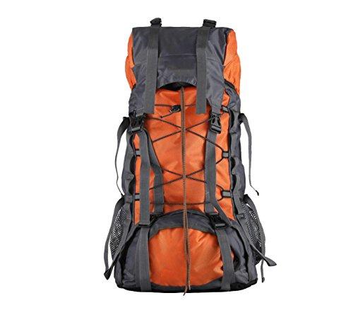 Yy.f 55L Campeggio Esterno Corsa Zaino Acqua Zaini Da Trekking Escursioni Borsa Da Viaggio Zaino Multifunzionale. 3 Colori Orange