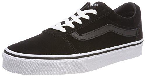 Vans Women's Ward Low-top Sneakers, (Suede) Blackwhite 0xt, 5 Uk