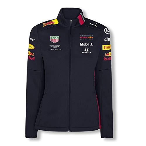 Red Bull Racing Official Teamline Veste Softshell, Bleu Dames Small Veste Imperméable, Racing Aston Martin Formula 1 Team Vêtements & Merchandise Original
