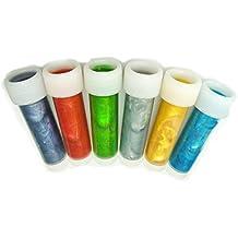 colorantes alimentarios metálicos 6 x 12ml