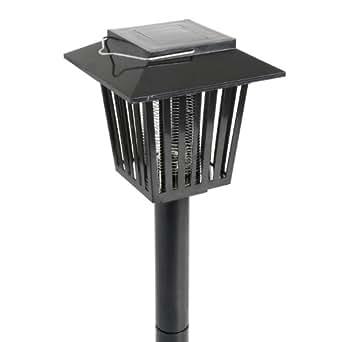 Lampada solare da giardino 2 in 1 - Per illuminare o con funzione antizanzare - A tecnologia LED - Dotata di pannello solare