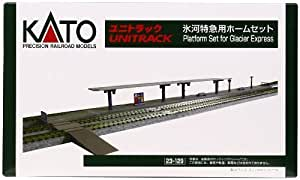 N Scale 23-129 Glacier Express Plat form Set by Kato