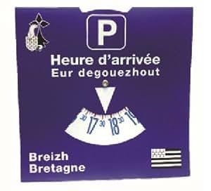 disque de stationnement europeen bilingue breton fran ais sports et loisirs. Black Bedroom Furniture Sets. Home Design Ideas