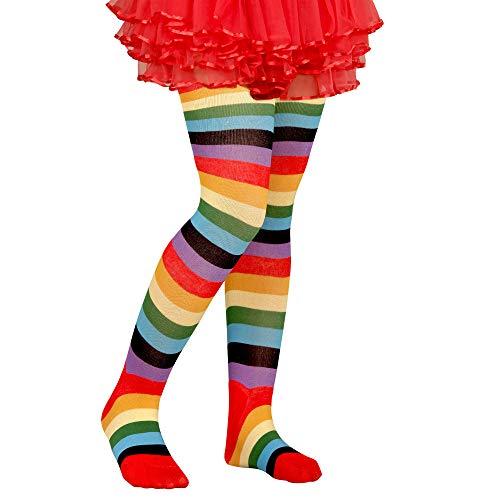 Widmann 30011 Kinder Strumpfhose Bunt, Mädchen, Mehrfarbig