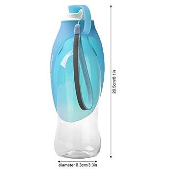 Petacc Voyage Bouteille pour Chien/Chat Distributeur D?eau Portable pour Chien/Chat en Silicone