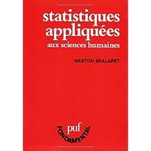 Statistiques appliquées aux sciences humaines
