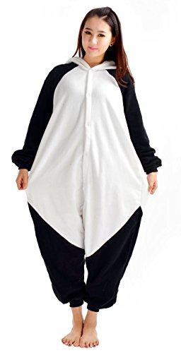 Imagen de pijama oso panda niño niña animal cuerpo entero mujer familiar navidad halloween disfraz alternativa