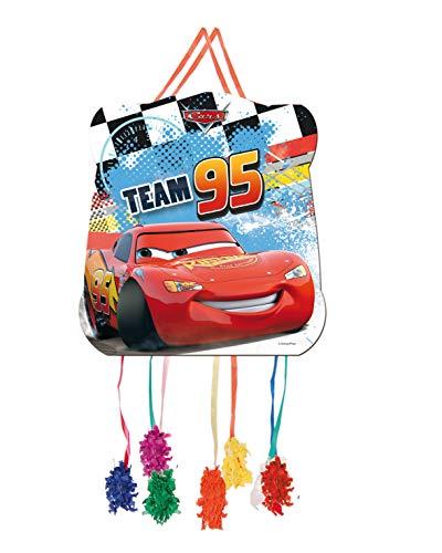 ALMACENESADAN 0823, Piñata Basic Disney Cars, bunt, für Partys und Geburtstage. 28x33 cm.