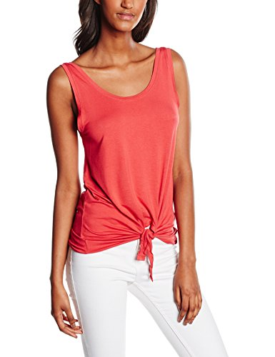 Only Onlmiley S/L Knot Top Ess, Débardeur Femme Rose (Chrysanthemum)