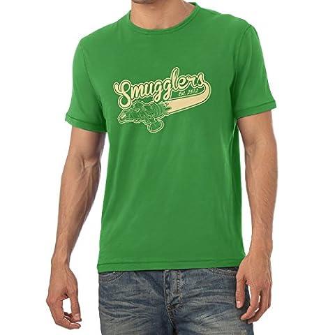 TEXLAB - Smugglers - Herren T-Shirt, Größe XXL, grün