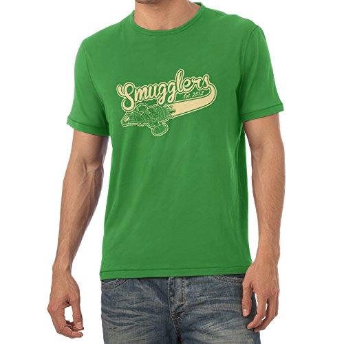 TEXLAB - Smugglers - Herren T-Shirt, Größe XXL, grün (Jayne Firefly Kostüm)
