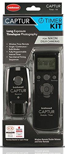 Hähnel HL C NIKON TIM Captur Timer Kit - Kabelloser Fernauslöser und Timerauslöser für Nikon schwarz Nikon-dslr D300s Kit