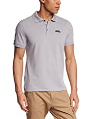 Odlo Polo Shirt Short Sleeve Trim - Polo para hombre, color gris, talla L