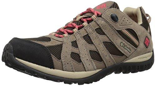 Columbia Redmond Waterproof, Zapatos de Low Rise Senderismo para Mujer, Marrón Cordovan/Sunse 231...