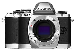 Olympus OM-D E-M10 Fotocamera Mirrorless 16 MP, Corpo Macchina, Argento
