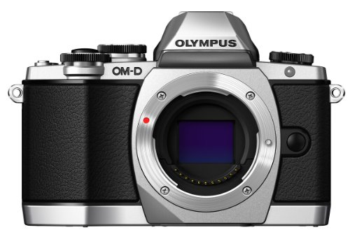 OLYMPUS OM-D E-M10 - CAMARA EVIL DE 16 1 MP (PANTALLA TACTIL ABATIBLE 3  ESTABILIZADOR OPTICO  VIDEO FULL HD  WIFI)  COLOR PLATEADO - SOLO CUERPO