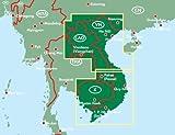 Image de vietnam, Laos y Camboya mapa de carreteras. Escala 1:900.000. Freytag & Berndt. (Auto karte)